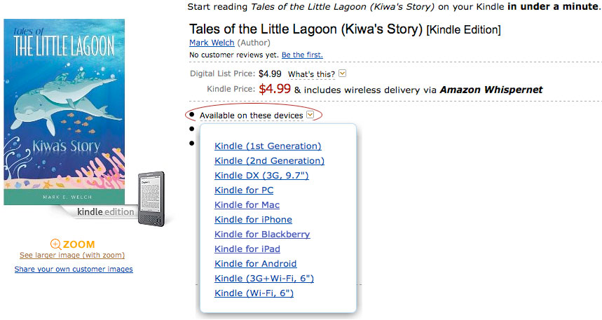 ebook for children tales of the little lagoon buy online | eBooks